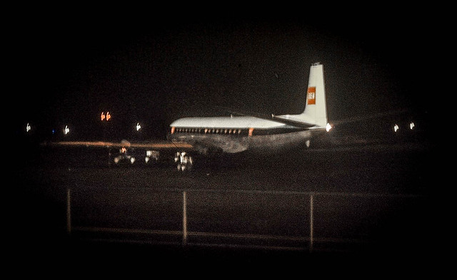1960 BEA Comet 4B Ringway Airport, Manchester