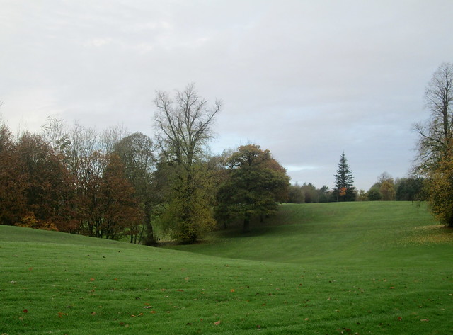 Balbirnie Park, Fife, Scotland, golf course