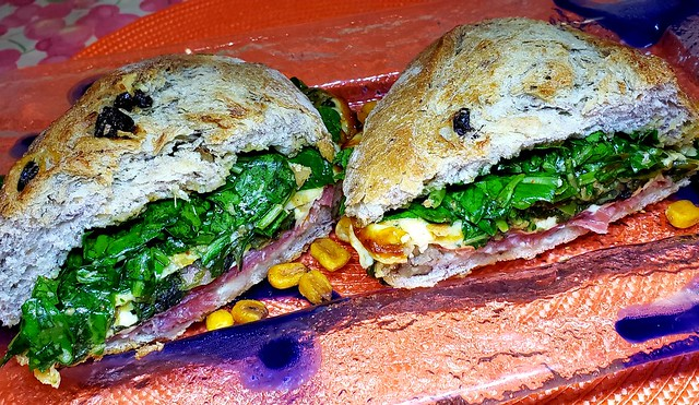 #161119 #jantar #sanduiche #dinner #sandwich