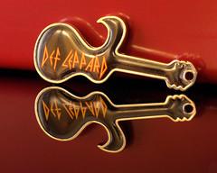 Def Leppard Keyring Pendant
