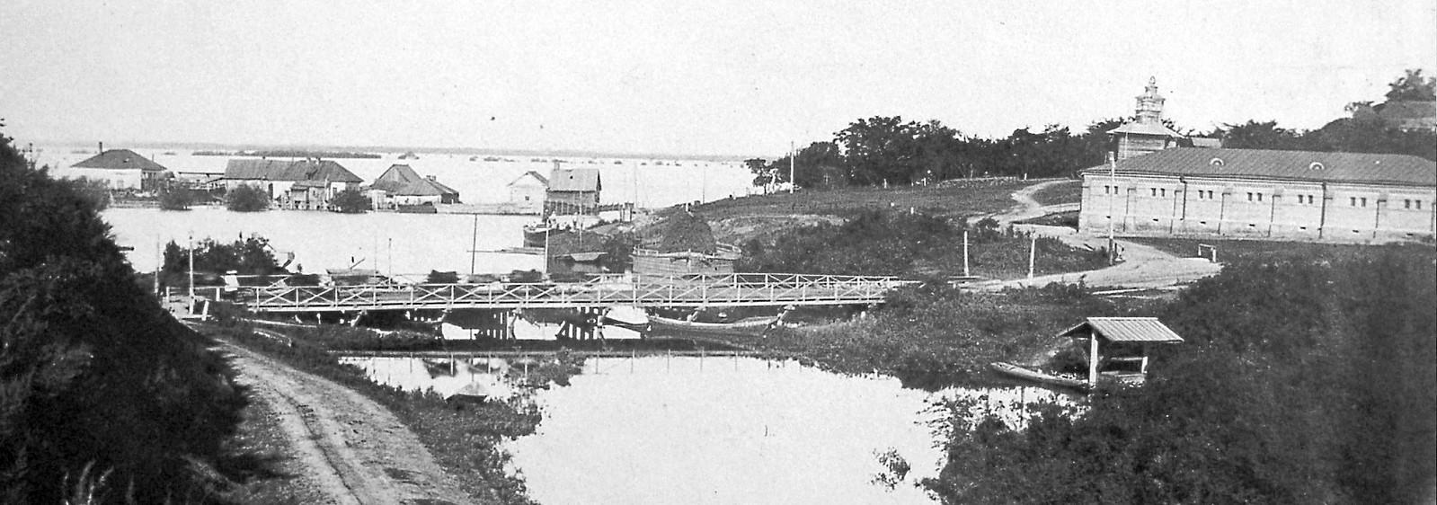 21. Устье р. Чердымовки, большая вода. 1896