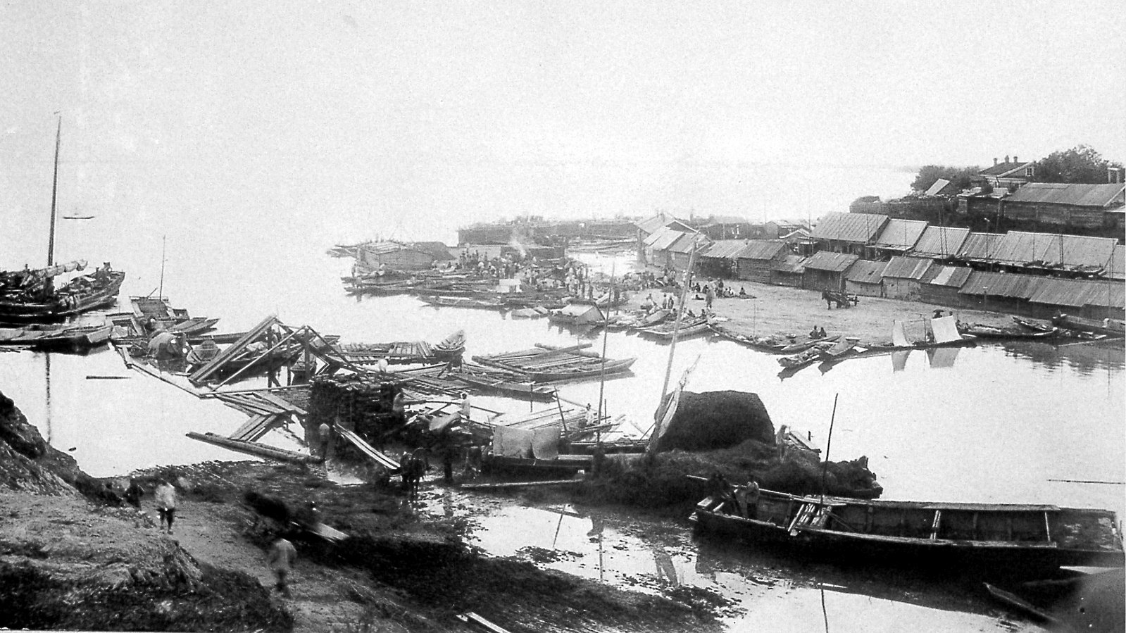 20. Устье р. Плюснинки. 1896