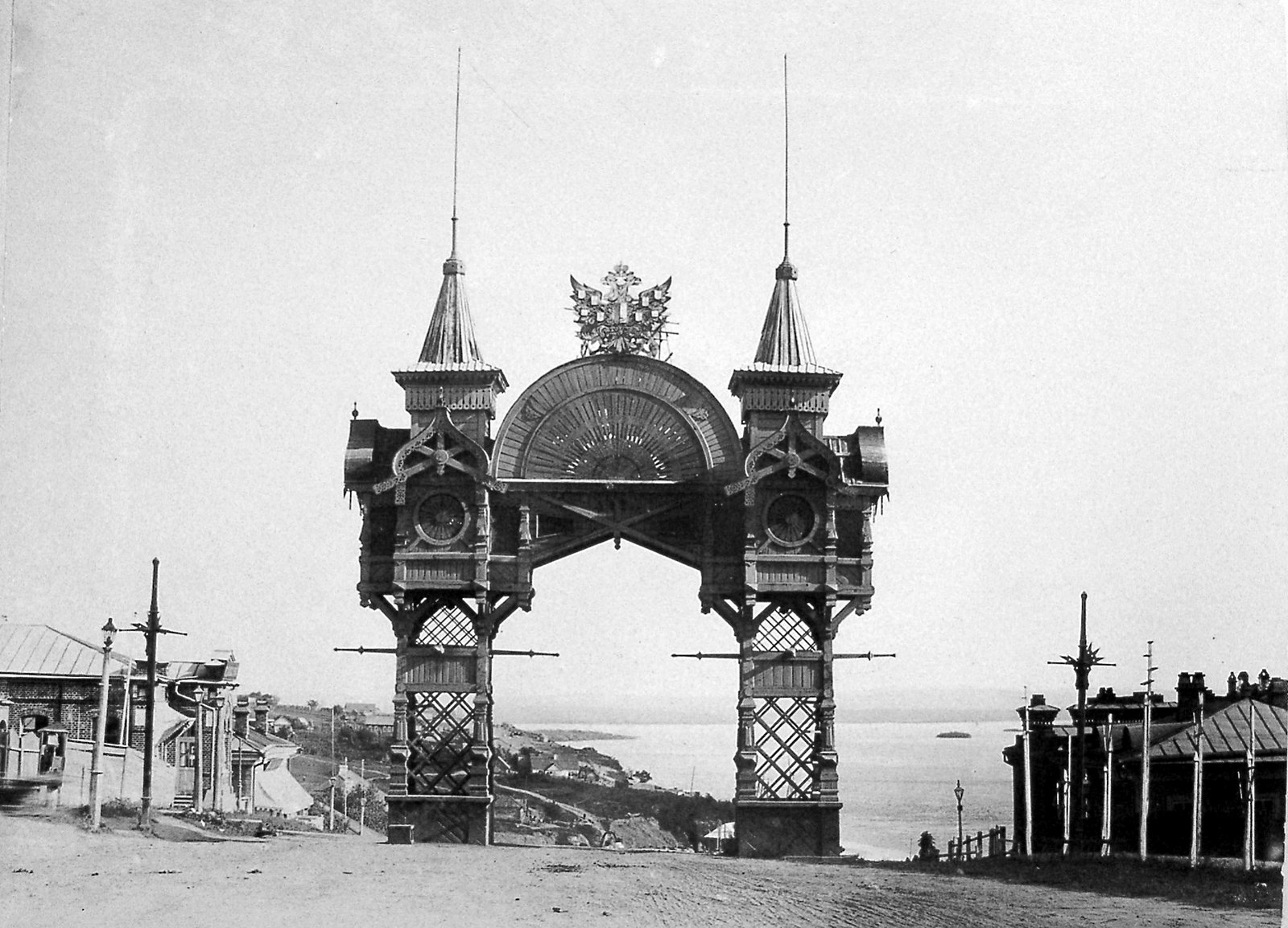 18. Триумфальная арка. 1896