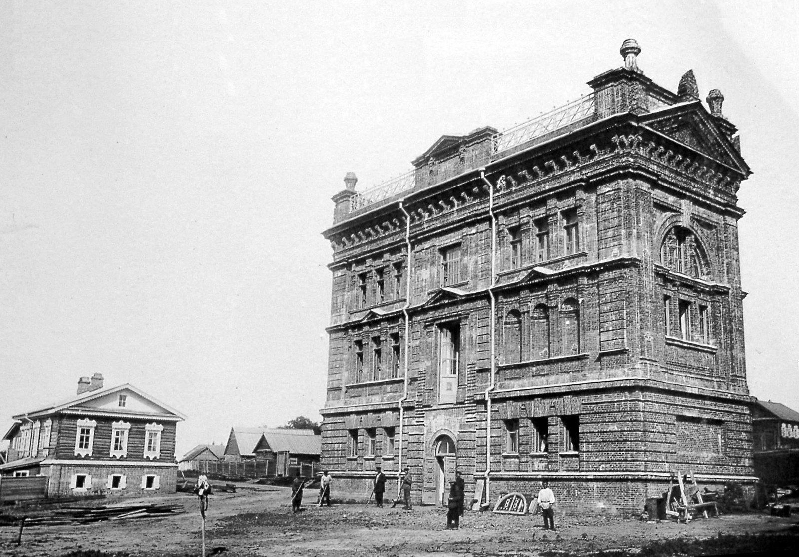 14. Окончание строительства музея. 1896