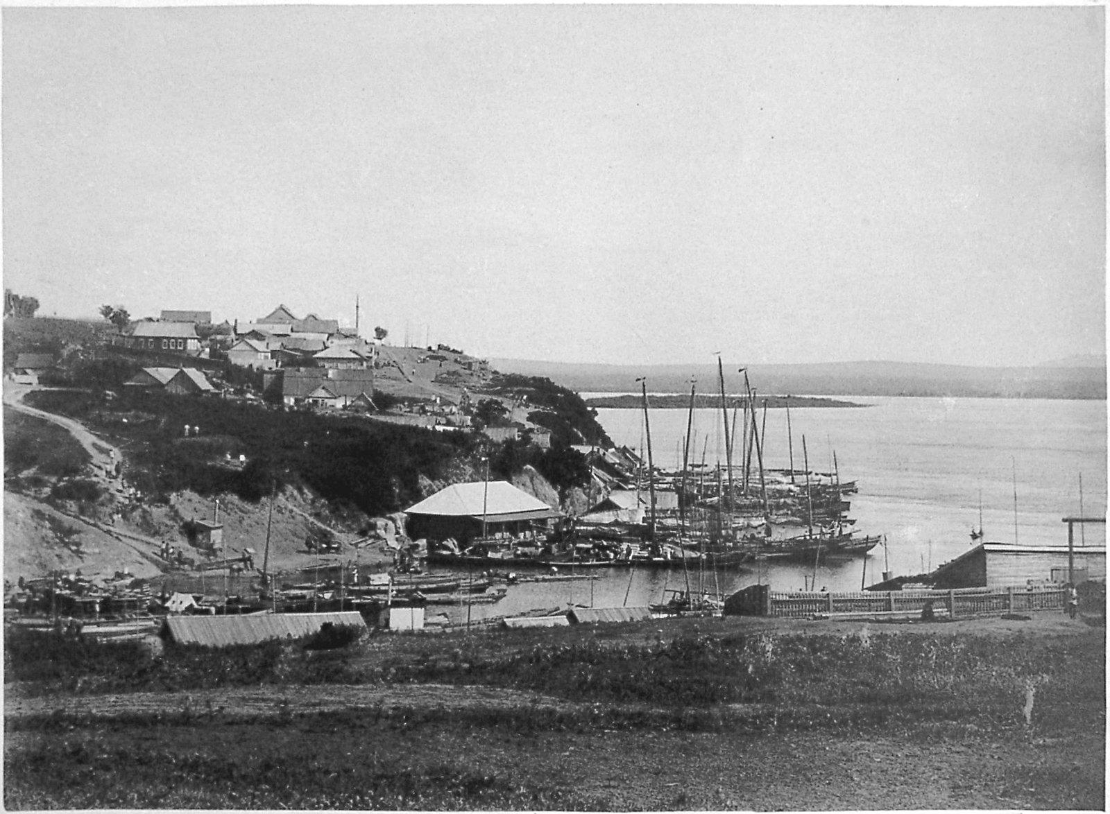 07. Вид на китайскую слободку. 1896