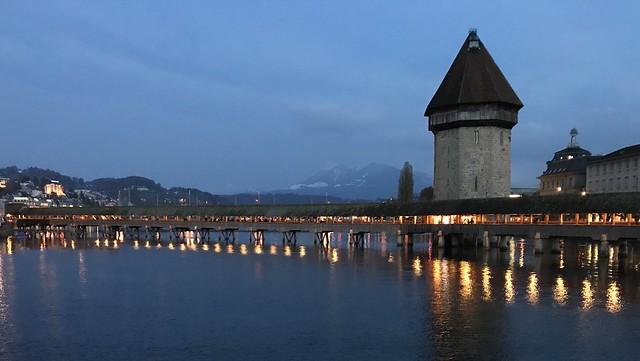 Kapellbrücke (Chapel Bridge), Lucerne v2