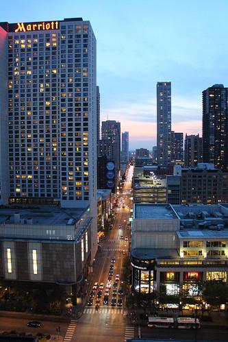 chicago american america art artistic architecture street buildings oldbuilding sunset