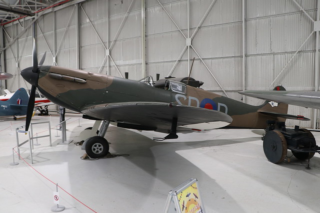 K9942/SD-D  -  Supermarine Spitfire Mk1  -  Royal Air Force (72 sqn)  -  RAF Museum Cosford 15/11/19