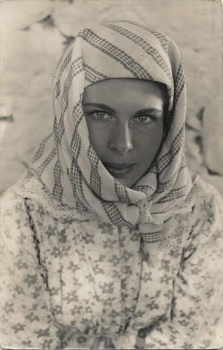 Barbara Rütting in Die letzte Brücke (1954)