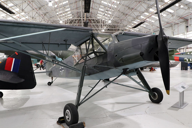 VP746  -  Fieseler Fi 156-C7 Storch  -  Luftwaffe  -  RAF Museum Cosford 15/11/19