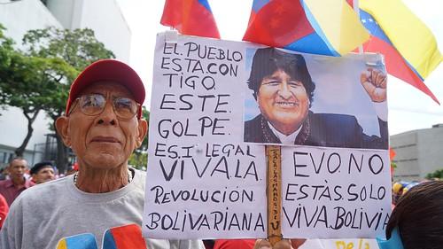 Pueblo de Venezuela toma calles de Caracas en contra del neoliberalismo