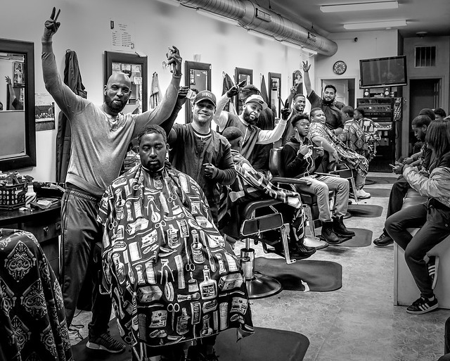 Baltimore Barbershop.