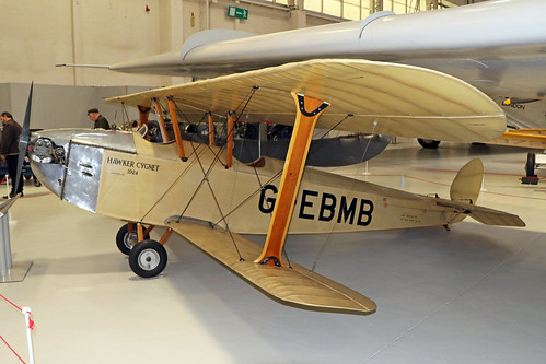 G-EBMB  -  Hawker Cygnet  -  Private  -  RAF Museum Cosford 15/11/19 | by Plane Martin