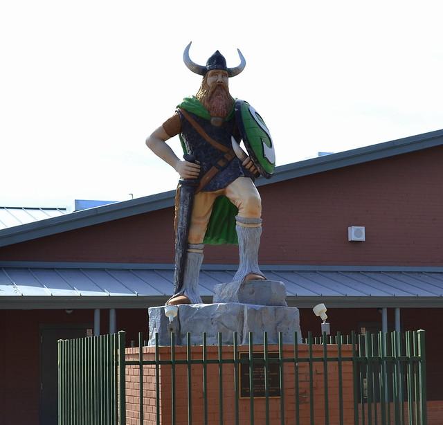 Sunnyslope Vikings Statue