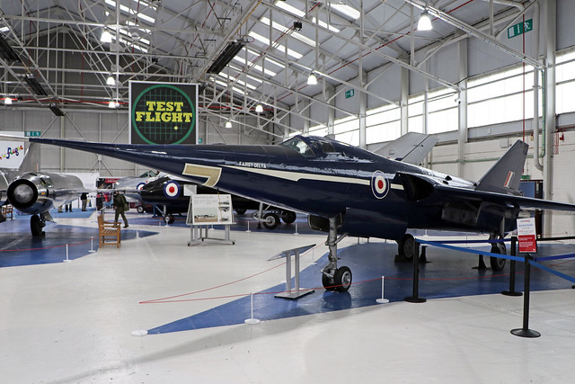 WG777  -  Fairey Delta 2  -  Royal Air Force  -  RAF Cosford 15/11/19