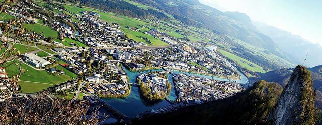 Hallein_Panorama_Salzburg, Austria