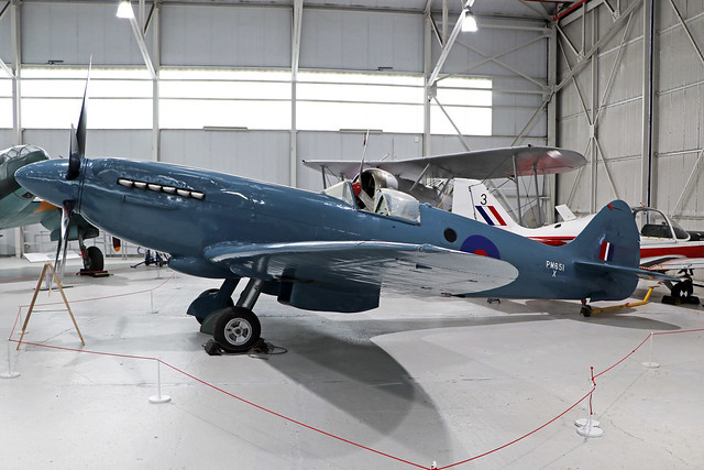 PM651  -  Supermarine Spitfire PR.XIX  -  Royal Air Force  -  RAF Museum Cosford.