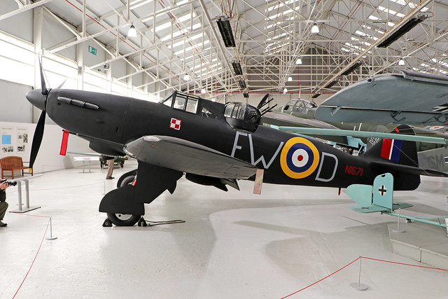 N1671  -  Boulton-Paul Defiant I  -  Royal Air Force  -  RAF museum Cosford 15/11/19