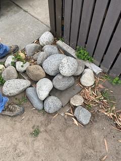 Pile of boulders