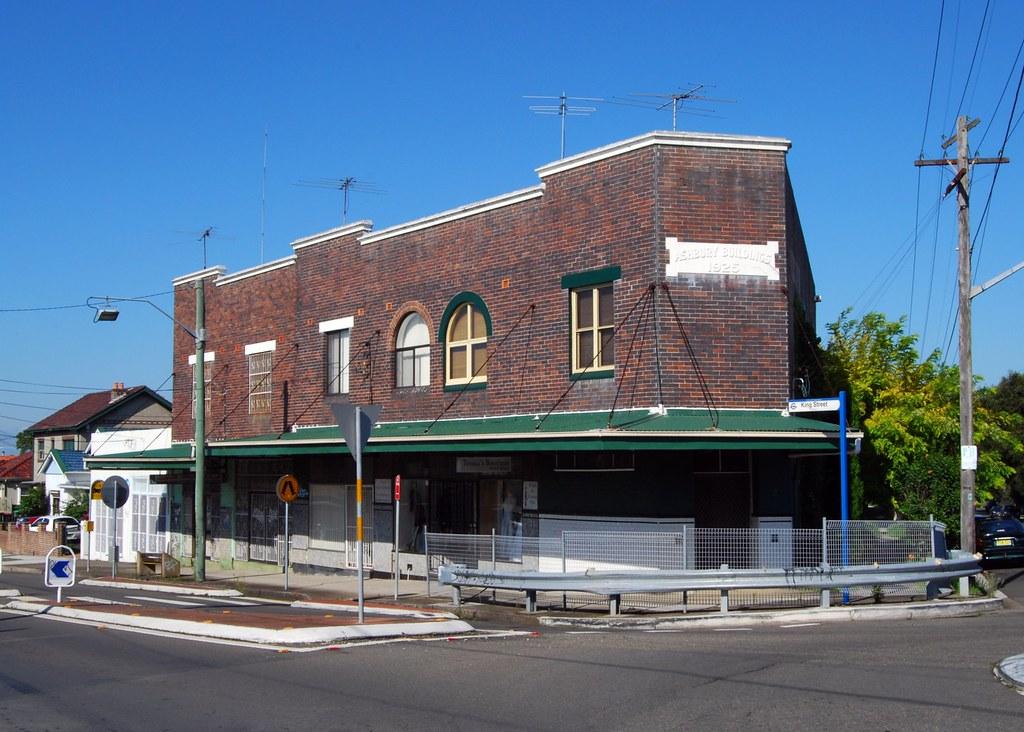 Shops, Ashbury, Sydney, NSW.