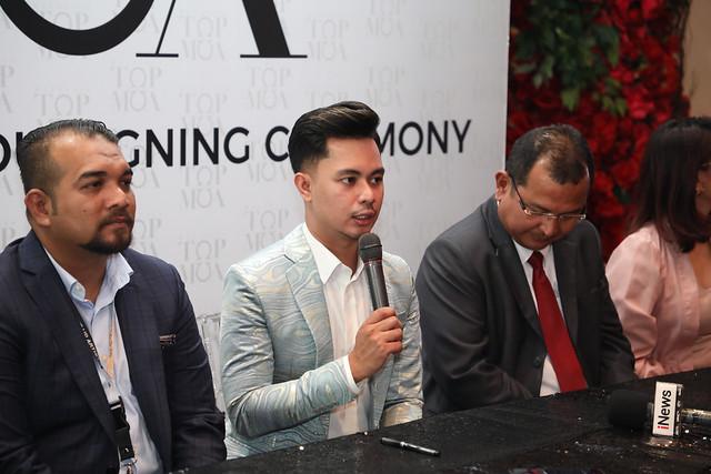 Alha Alfa Lancar Program Realiti Malaysia Top MUA