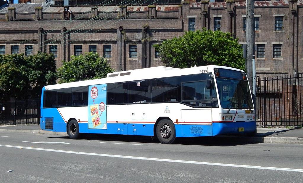 Bus 3633, Rozelle, Sydney, NSW.