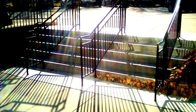 Library steps -SFS Menominee Michigan