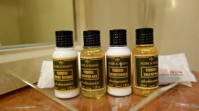 提供乳液、沐浴膠、潤絲精、洗髮精@高雄國賓大飯店