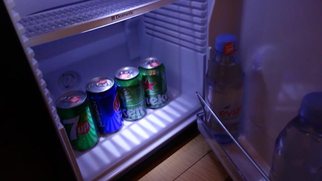 小冰箱裡的海尼根@高雄國賓大飯店