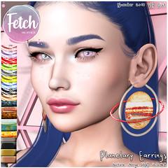 [Fetch] Planetary Earrings - Nov'19 VIP GIFT