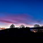 24. Oktoober 2019 - 17:07 - Bright silhouette sunset