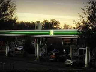 BP Gas Station Edit | by alnbbates