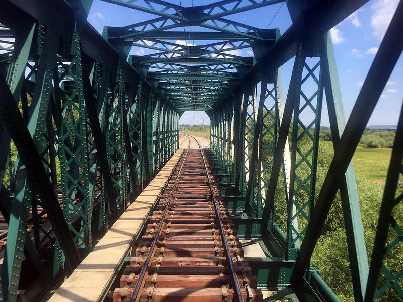 Rail bridge, Portugal