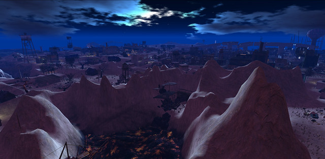 Fort Stygian at Night
