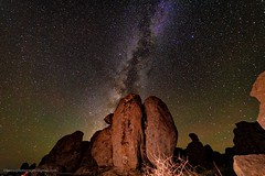 Milky Way on the rocks  (由  HikerLore