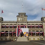Palace decked out to honor King Kalakaua's birthday