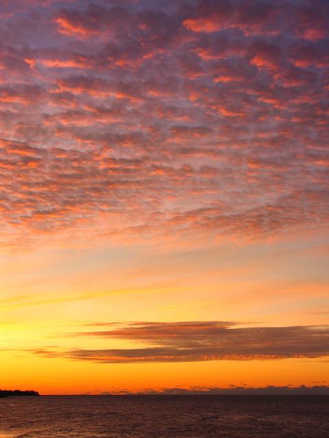 Tonight's delightful sunset