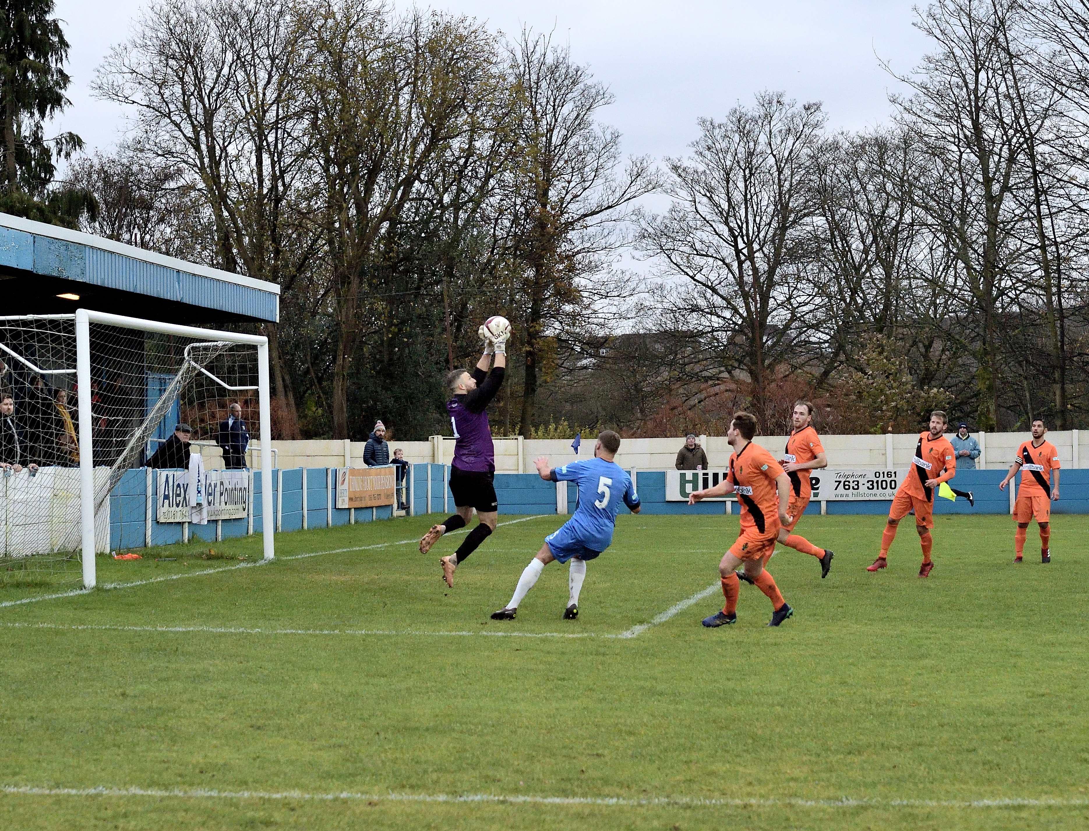 Rams 1 Runcorn Linnets 1 - Match Action