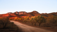 Moralana Gorge Road Sunset
