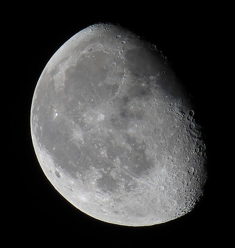 Wanning Gibbous 84% of the Moon is Illuminated IMG_6319