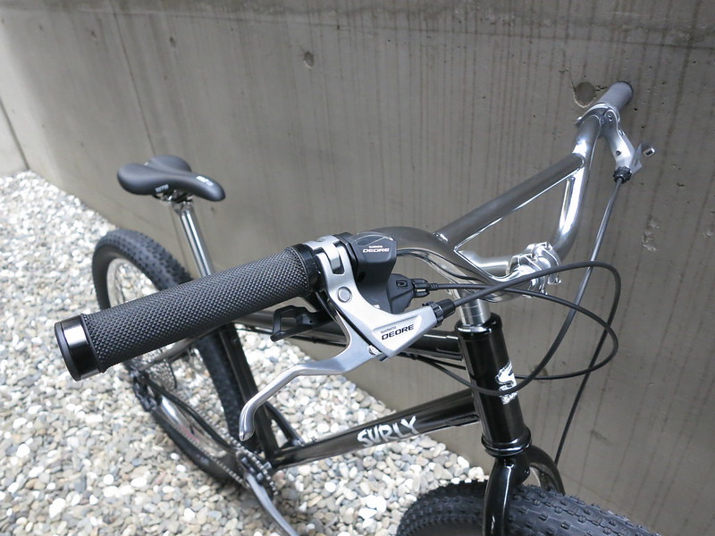 SURLY Lowside 1X10 Sil Front
