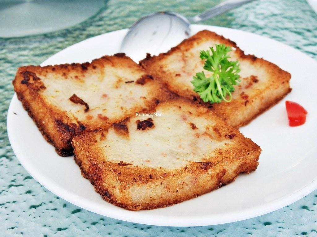 Pan-Fried Radish Cake