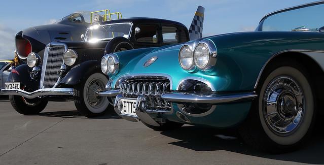 1958 Chevrolet Corvette & 1934 Ford