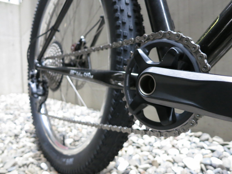 SURLY Lowside 1X10 Sil Crank