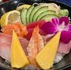 Chirashi-don at Odenyaki Bistro tonight. #chirashi #chirashidon #sashimi #japanesefood #japanesecuisine #odenyakibistro #sanjoseeats #sanjose