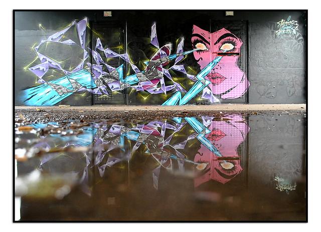 LONDON STREET ART by SIDOK & TAMOONZ