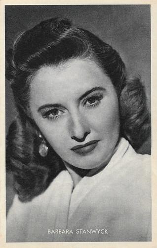 Barbara Stanwyck in B.F.'s Daughter (1948)