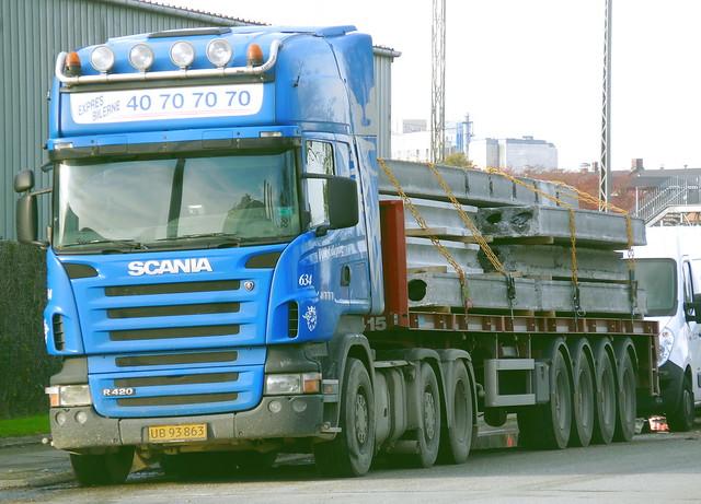 Scania R420 UB93863