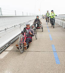 Richmond Bridge bike path grand opening