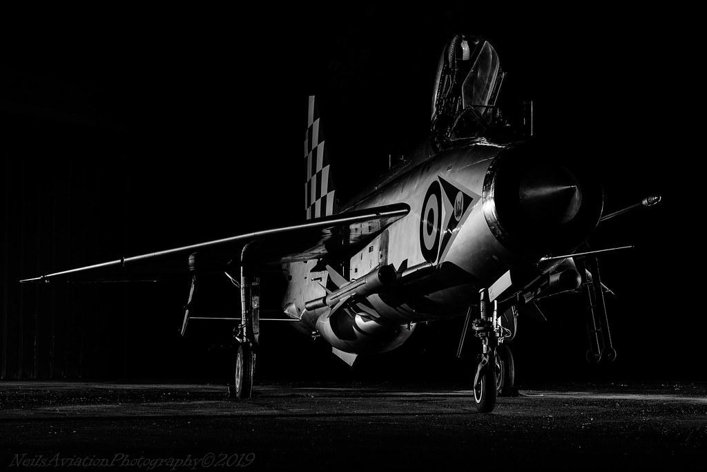 Lightning F.3 B&W